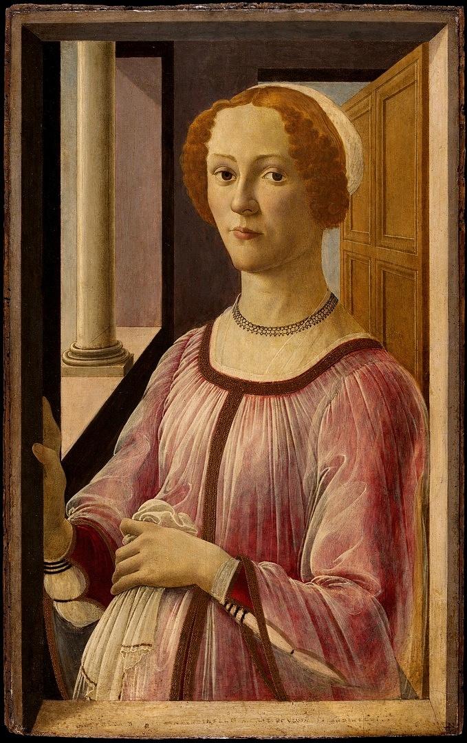 Boticelli: A Smeralda Bandinelliként ismert hölgy portréja
