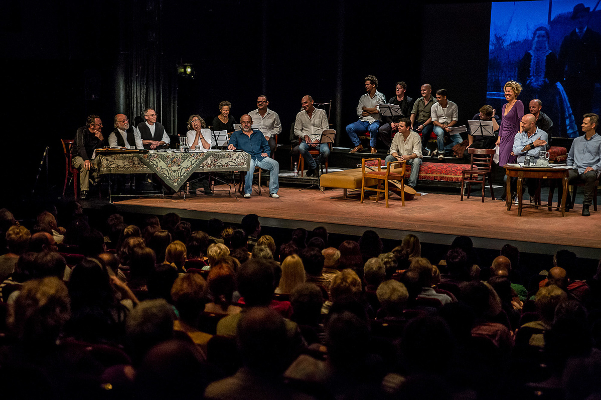 Színházak éjszakája a Katona József Színházban (fotó: Adrián Zoltán)