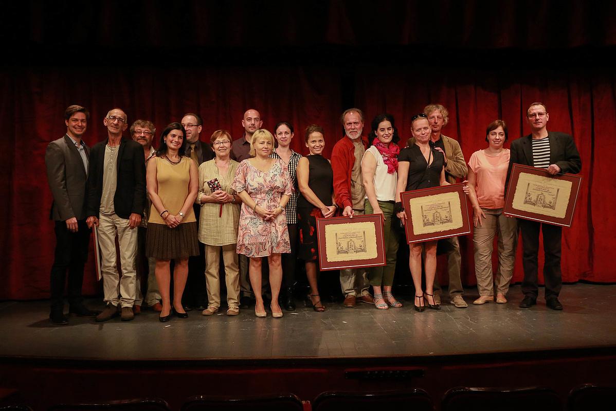 Vidéki Színházak Fesztiválja 2015 - a díjátadó