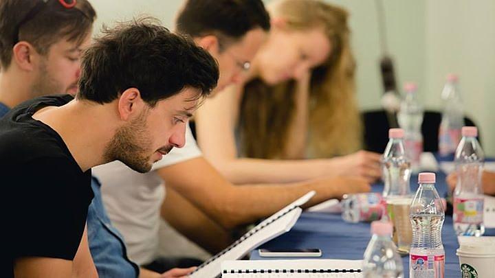 Szabó Kimmel Tamás a Száll a kakukk fészkére olvasópróbáján