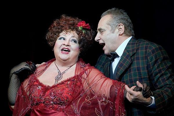 A Nemzeti Színház 2007/2008-as évada - Vesztegzár a Grand Hotelben - Molnár Piroska, Hollósi Frigyes