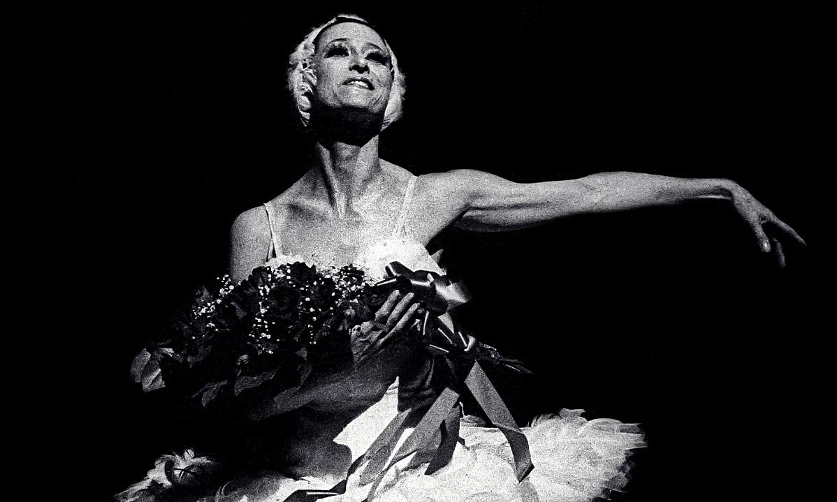 Maja Pliszeckaja A hattyú halála után a Metropolitan Operában (1974.)