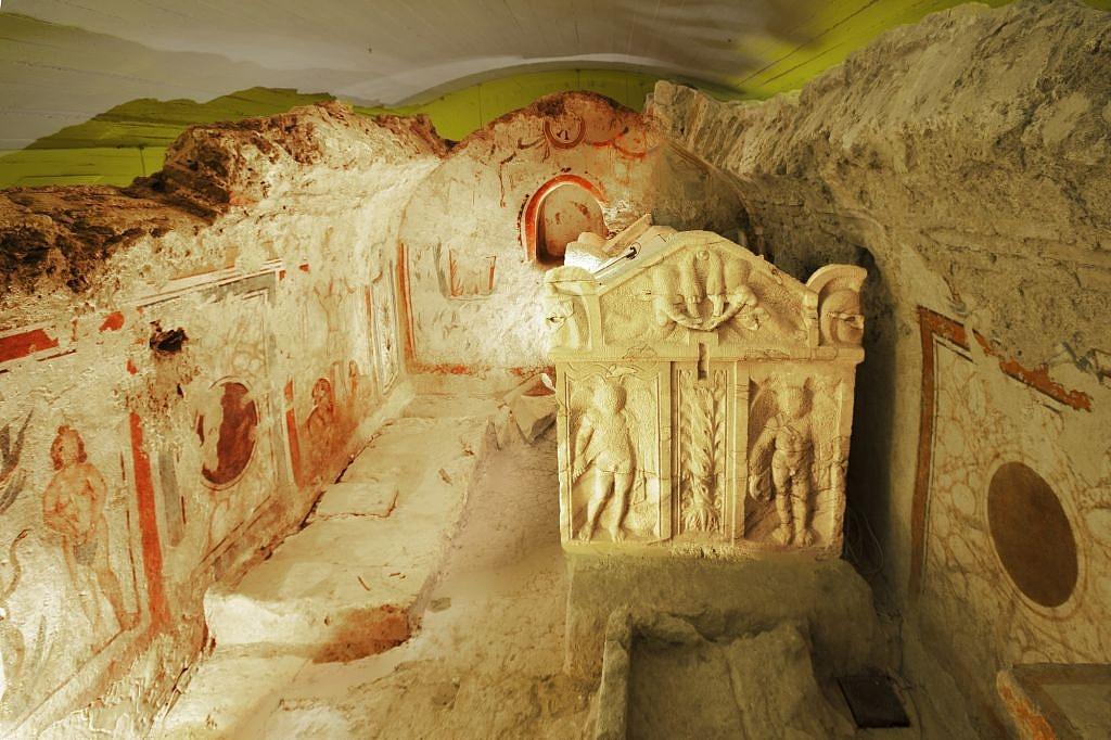 Ókeresztény sírok Pécsen