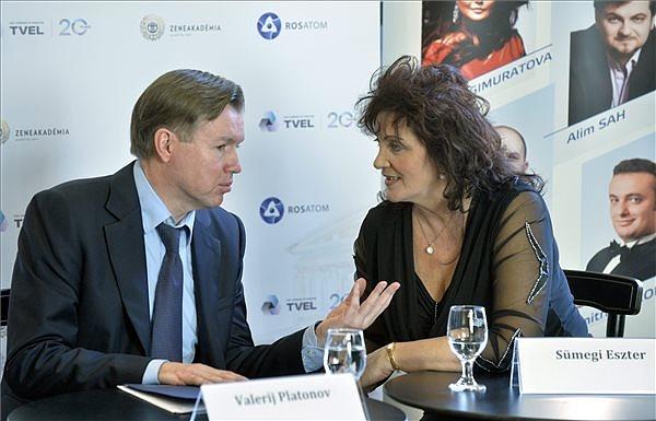 Valerij Platonov és Sümegi Eszter