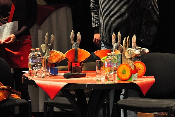 Az első Thália Humorfesztivál díjátadója