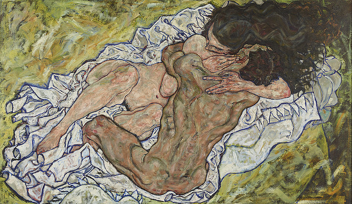 Egon Schiele: The Embrace