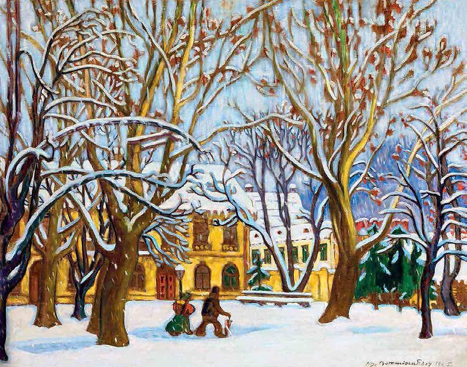 Boromisza Tibor: Nagybányán hull a hó