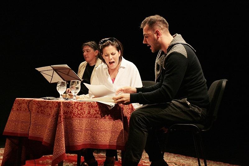 Színházi menedzserek vizsgaelőadása 2015-ben Lovas Rozi és Nagy Dániel Viktor közreműködésével