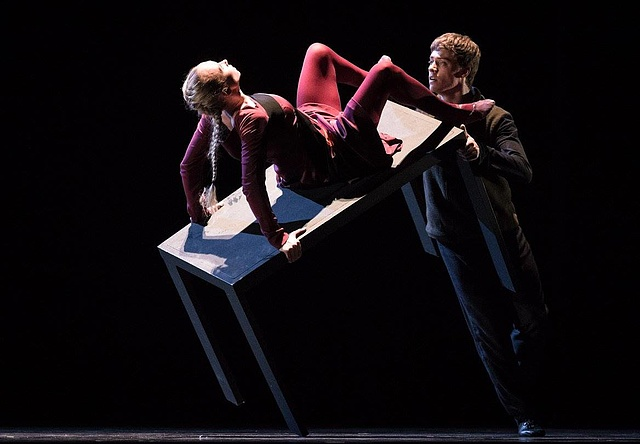 Anna Merkulova, Johannes Schmidt She was Black - Semperoper Ballett