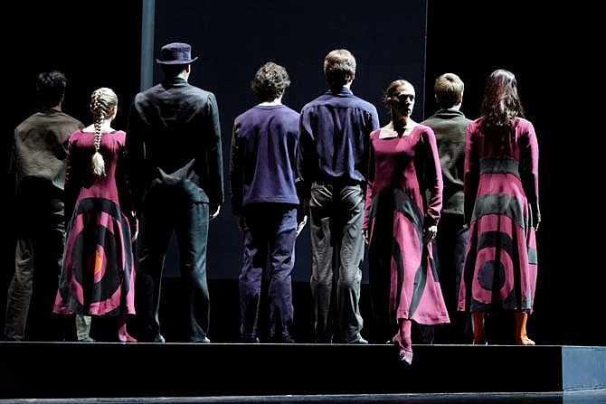 She was Black, Ana Presta - Semperoper Ballett