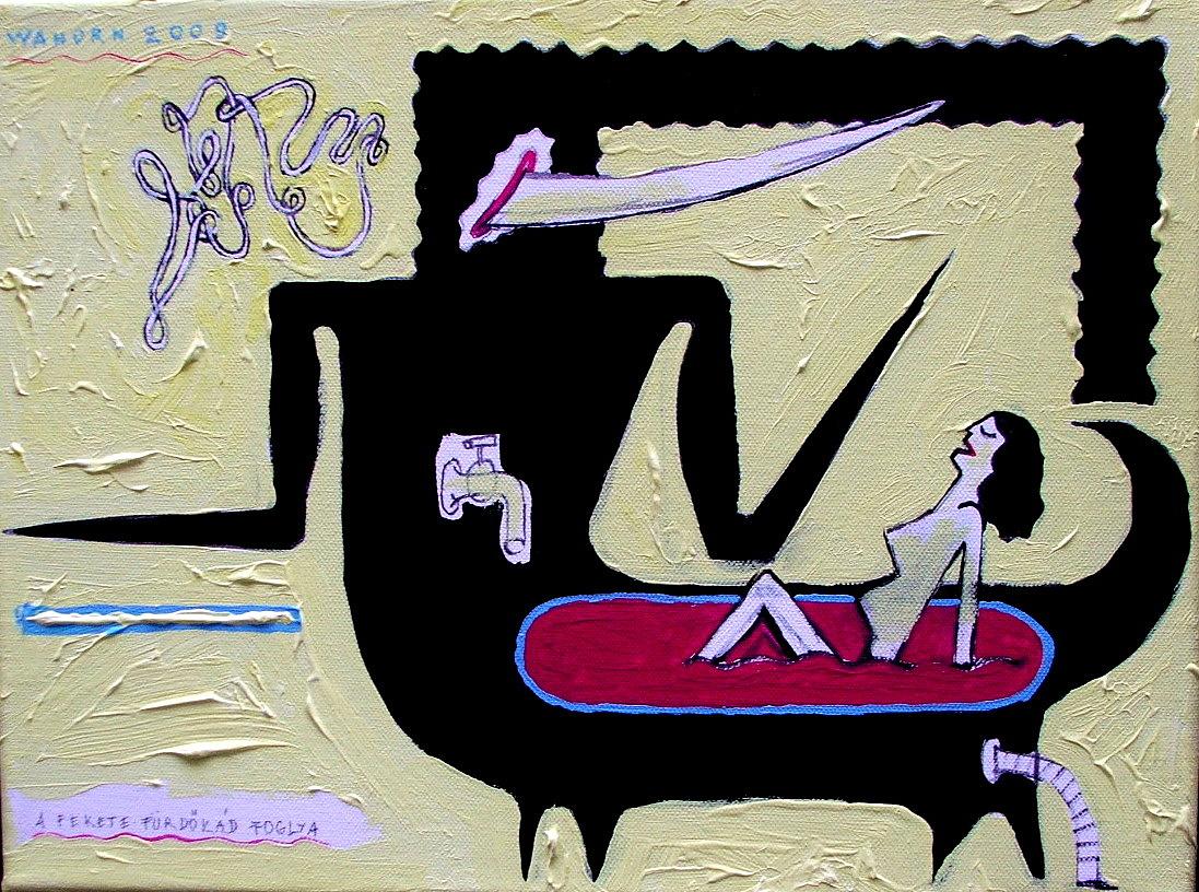 Wahorn András: A Fekete Fürdőkád Foglya, 2000