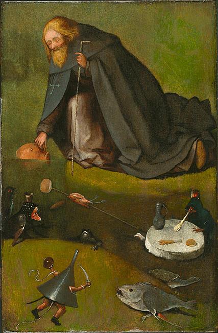 Hieronymus Bosch: Szent Antal megkísértése