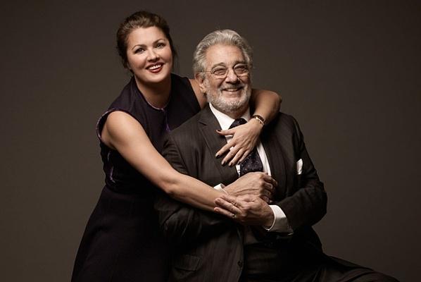 Anna Nyetrebko és Plácido Domingo