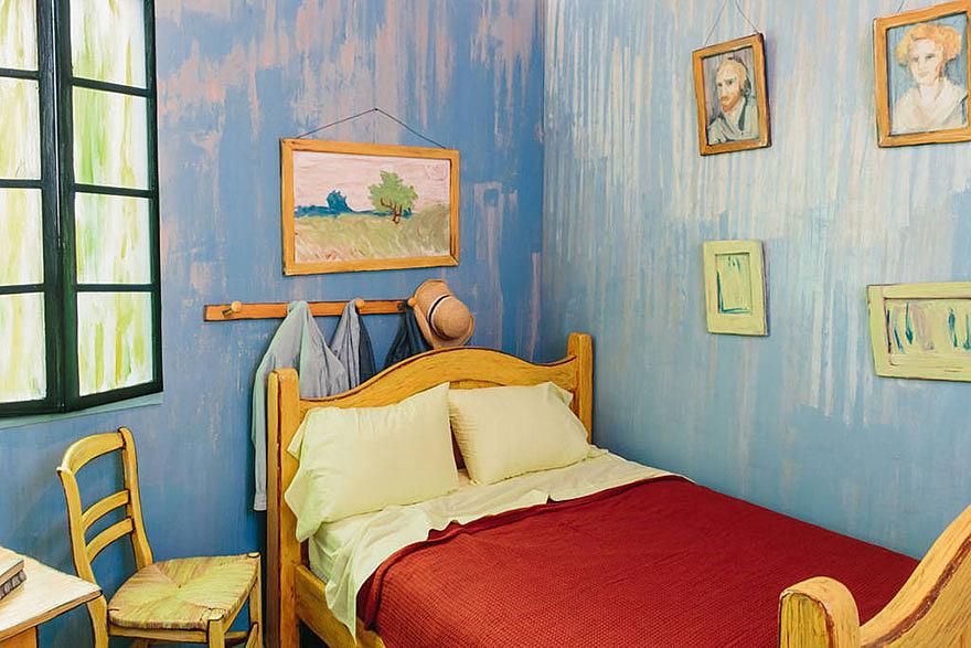 Van Gogh szobája az Airbnb-n 2