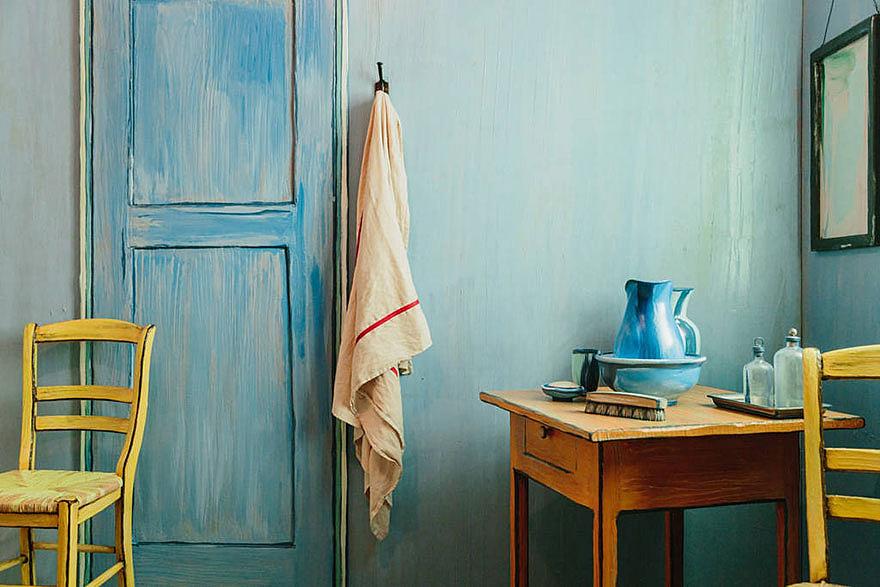 Van Gogh szobája az Airbnb-n