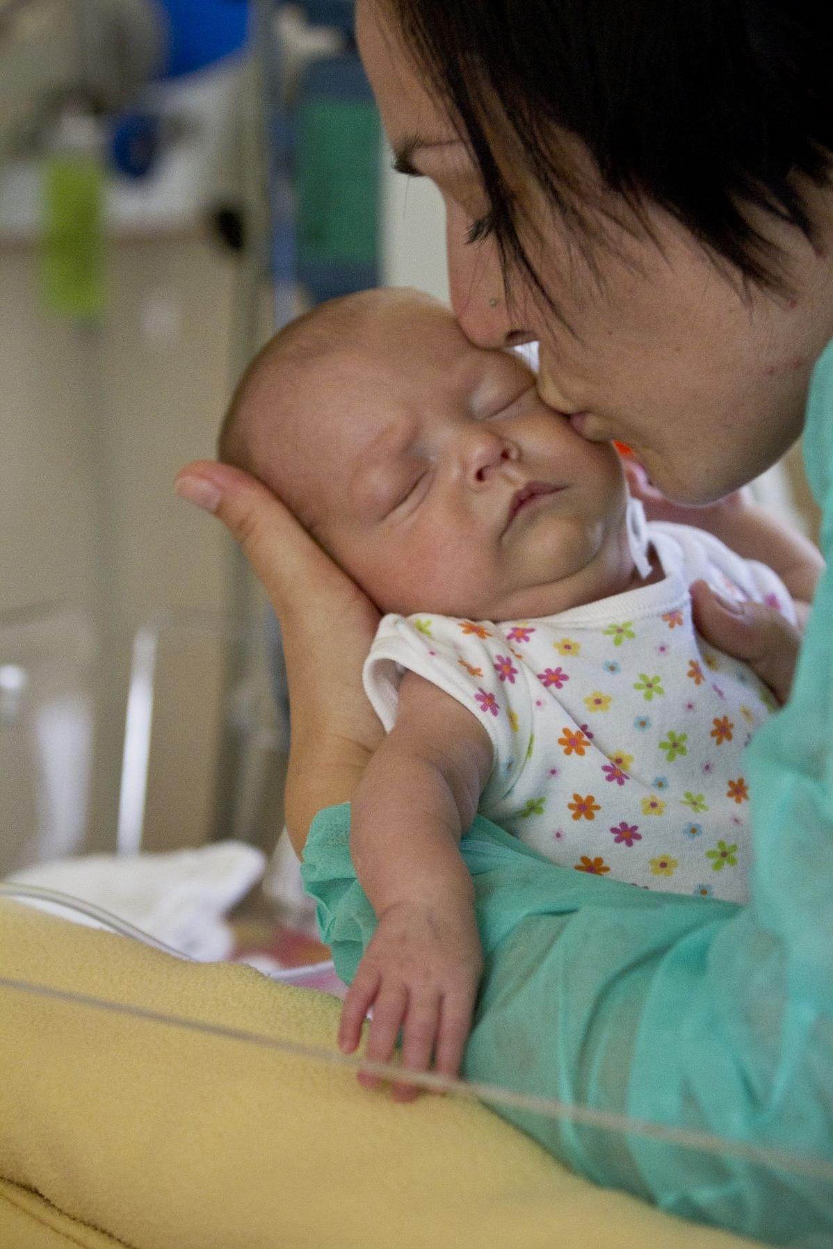 Ringató - koraszülött baba