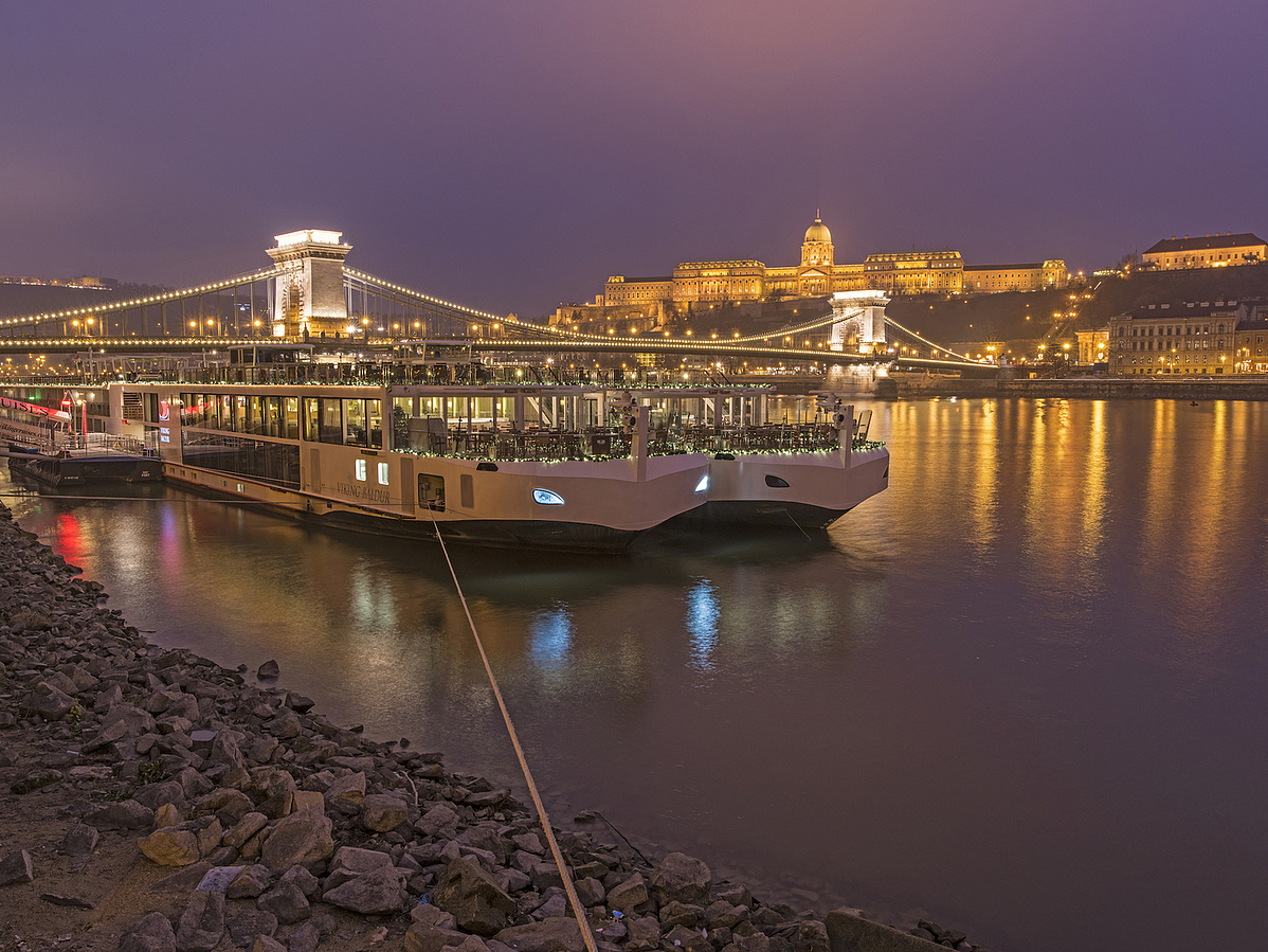 Twilight in Budapest