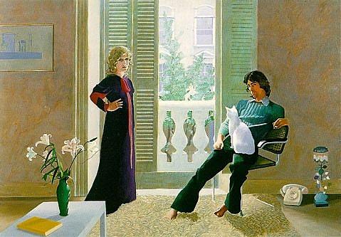 Egy évet kell várni David Hockney retrospektív kiállítására