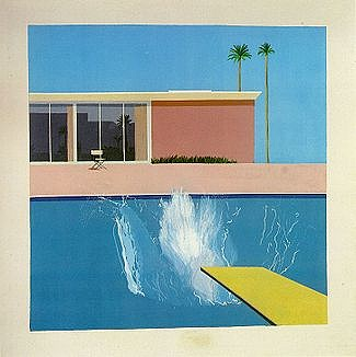 A Bigger Splash (1967), Tate Collection, London