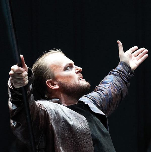 Tomasz Konieczny Alberich szerepében - Bécs 2012