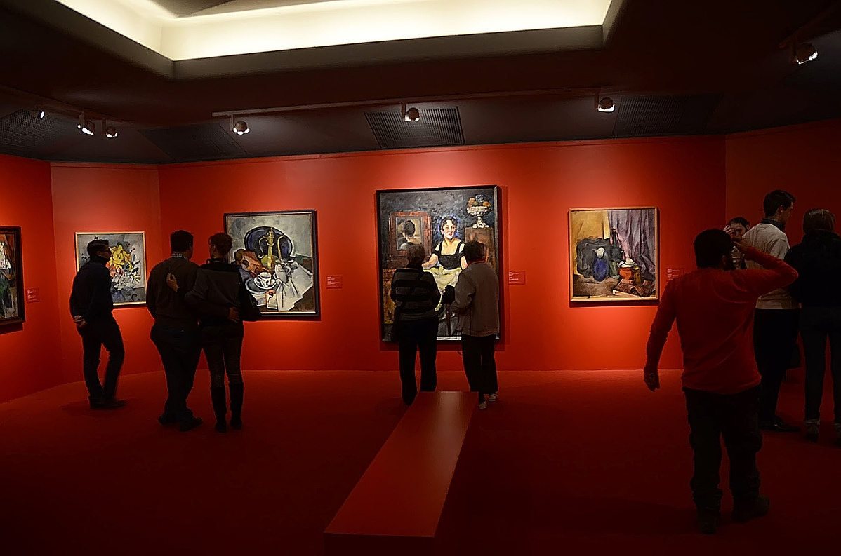Orosz avantgárd, Magyar Nemzeti Galéria