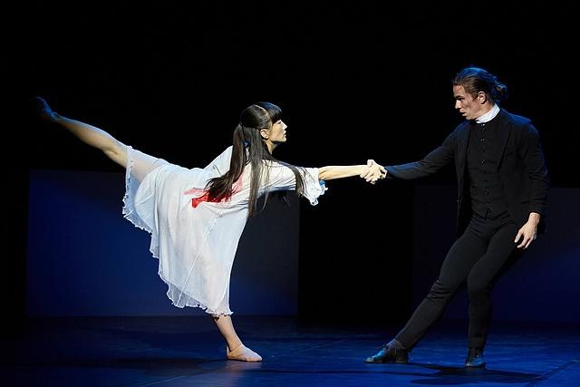 Ballet Preljocaj: Spectral evidence