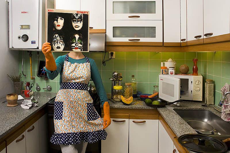 Kép Pablo Garber: A Ponete Un Disco (Próbálj fel egy lemezt!) c. sorozatából, 2012