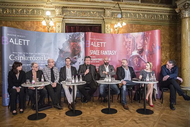 Az Opera sajtótájékoztatójának megszólalói