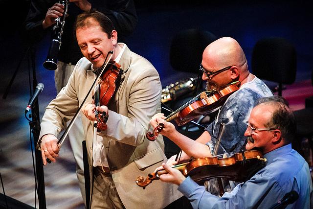 A Csík zenekar és Ferenczi György közös koncertje a Müpában