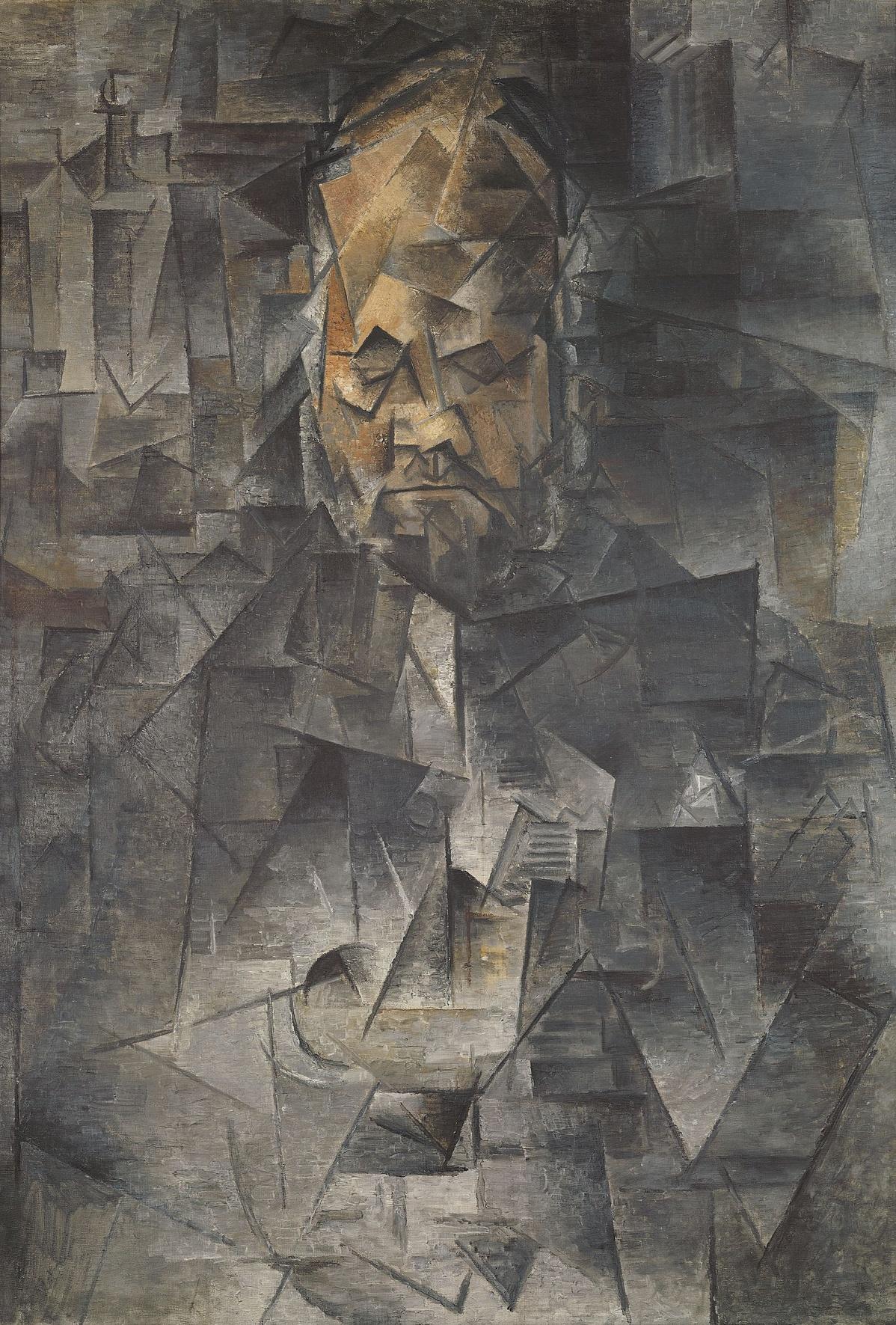 Pablo Picasso: Ambroise Vollard portréja, 1909-1910