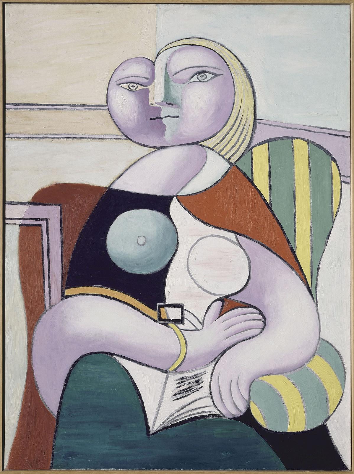 Pablo Picasso: Olvasó nő, 1932
