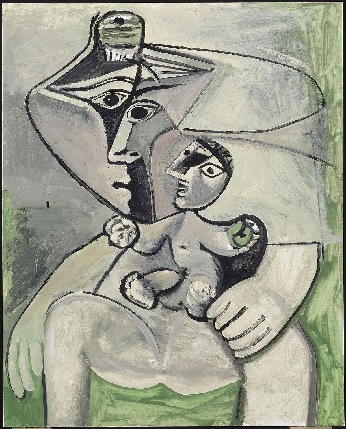 Pablo Picasso: Anyaság, 1971