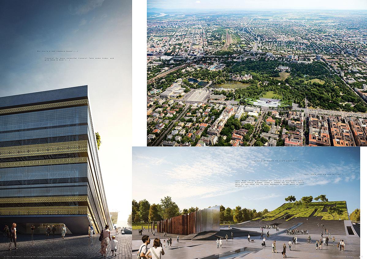 Ilyen lesz az új Néprajzi Múzeum - a Napur Architect győztes terve