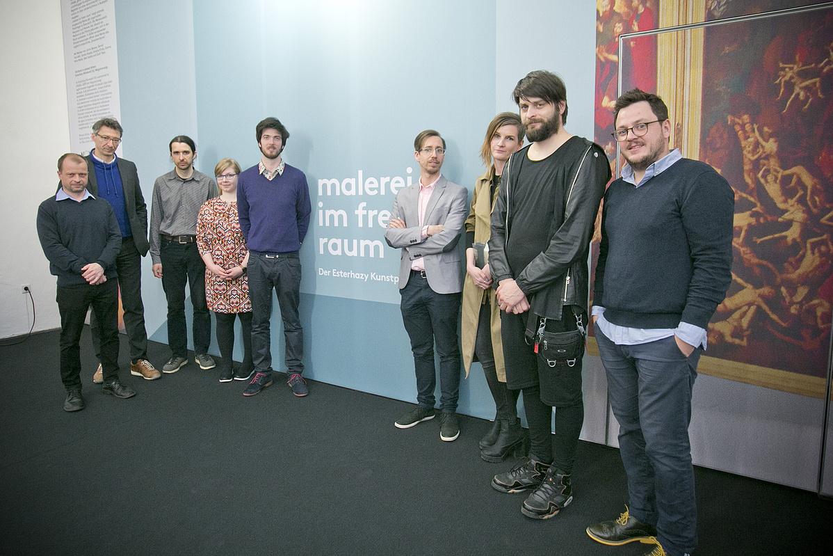 Gruppenfoto bei der Eröffnung(c)Roland Schuller