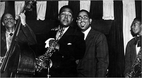 Tommy Potter, Charlie Parker, Dizzy Gillespie és John Coltrane
