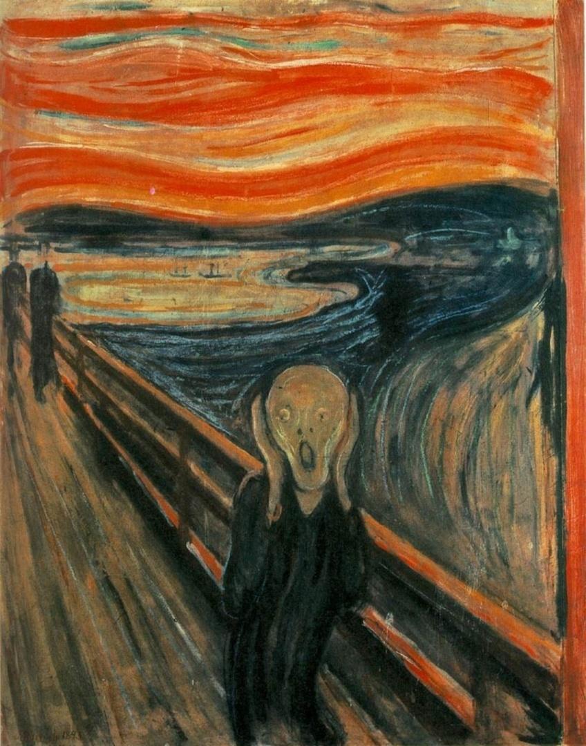 Munch: Sikoly, 1893