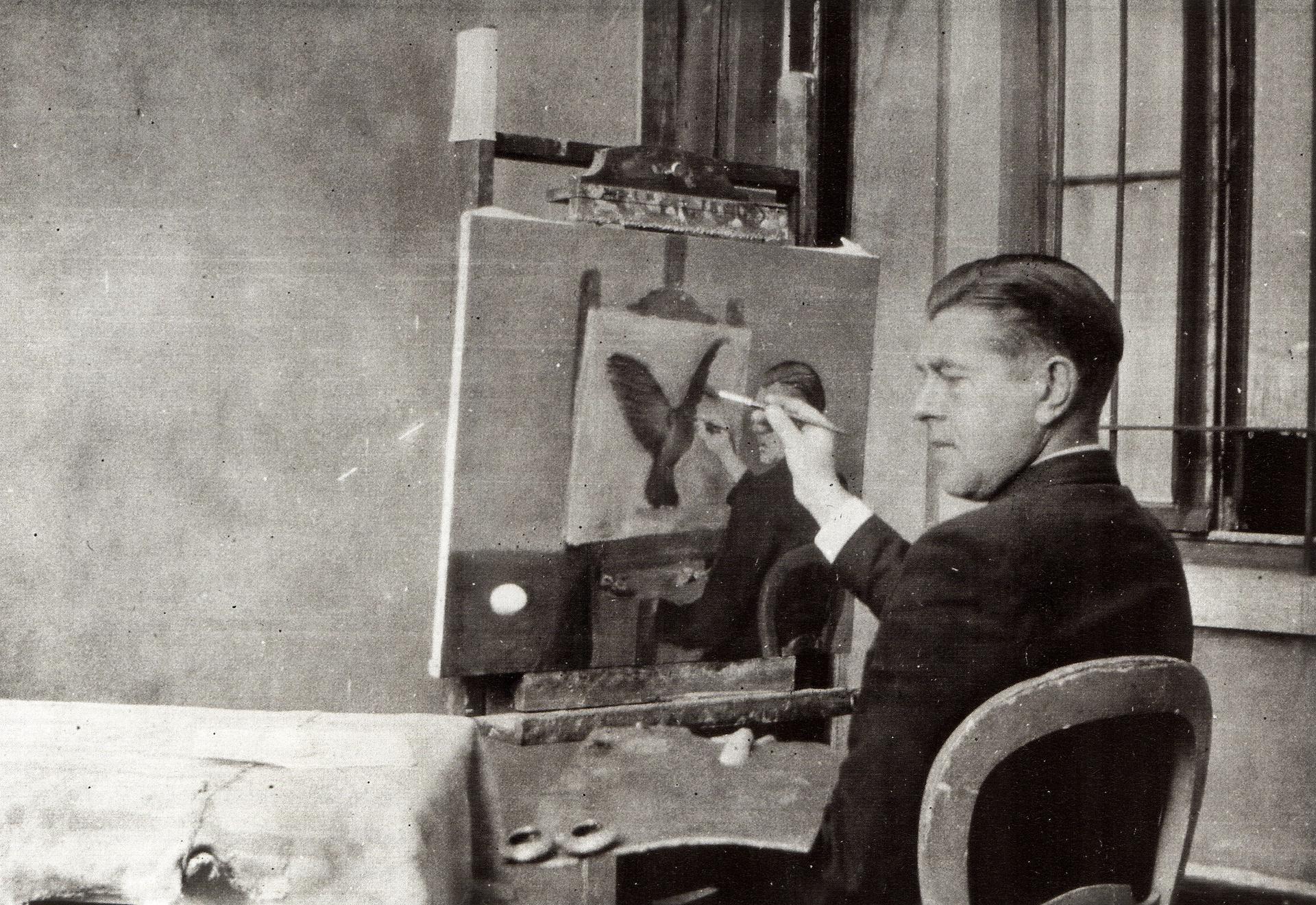 Újabb része került elő René Magritte rejtélyes festményének