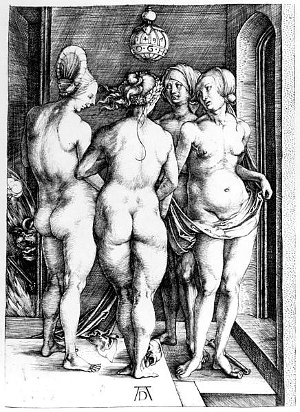 Albrecht Dürer: A négy boszorkány