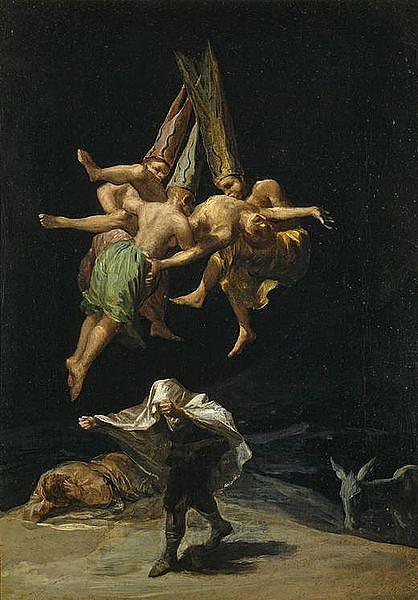 Goya: Boszorkányrepülés