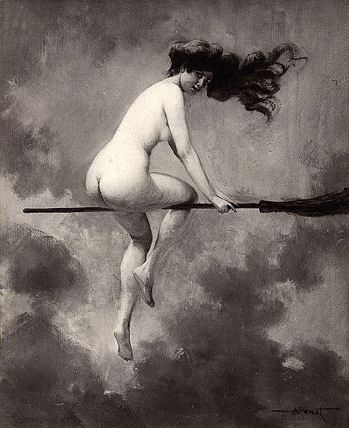 Albert Joseph Pénot: Indulás a boszorkányszombatra