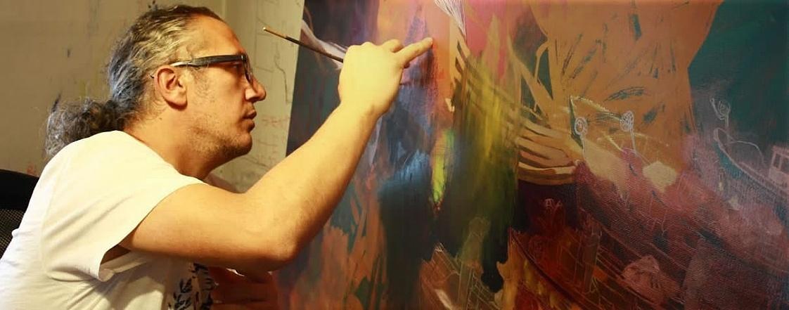 Hakan Esmer török festő
