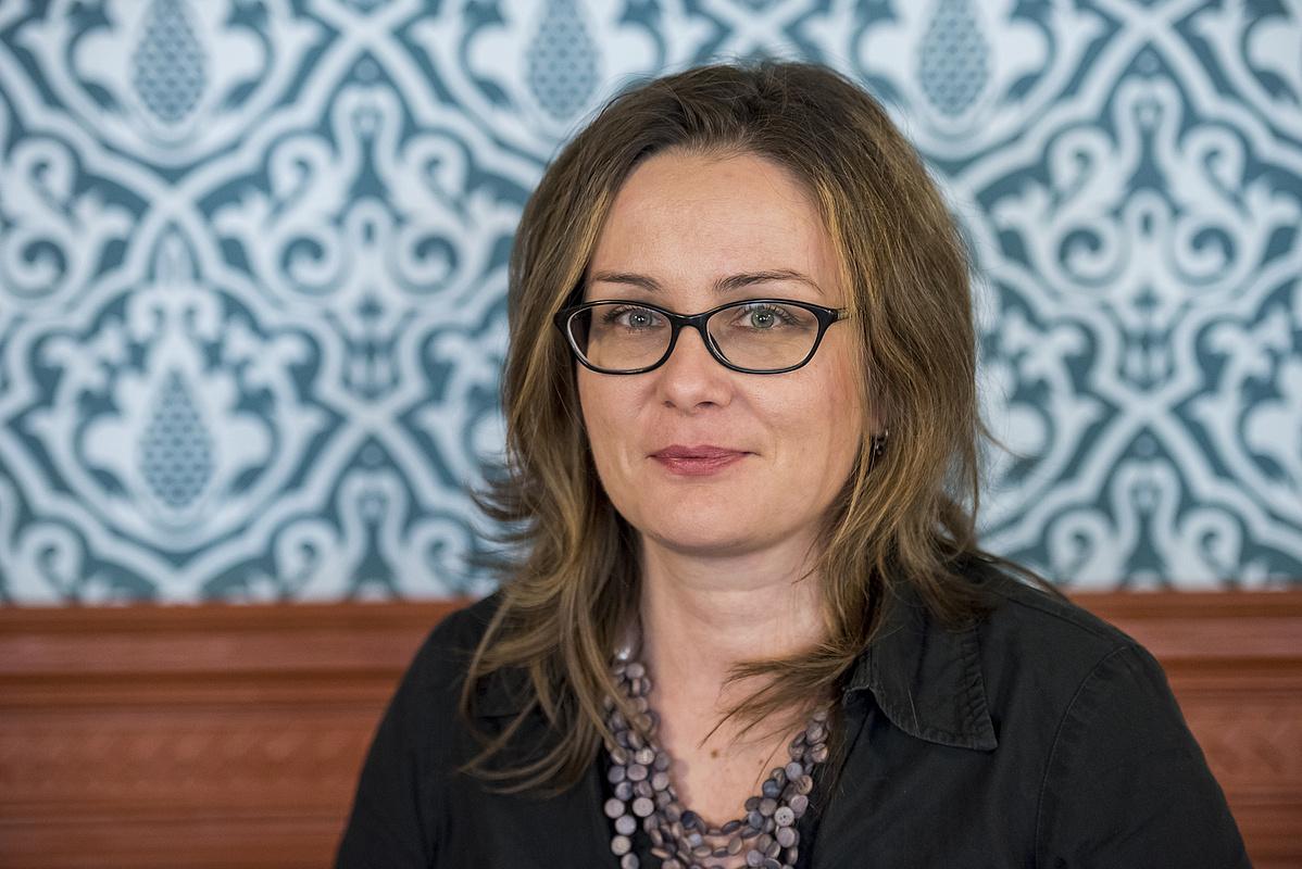 Buglya Zsófia, az Uránia Nemzeti Filmszínház programigazgatója