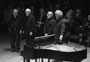 Sáry László, Jeney Zoltán, Vidovszky László és Kocis Zoltán