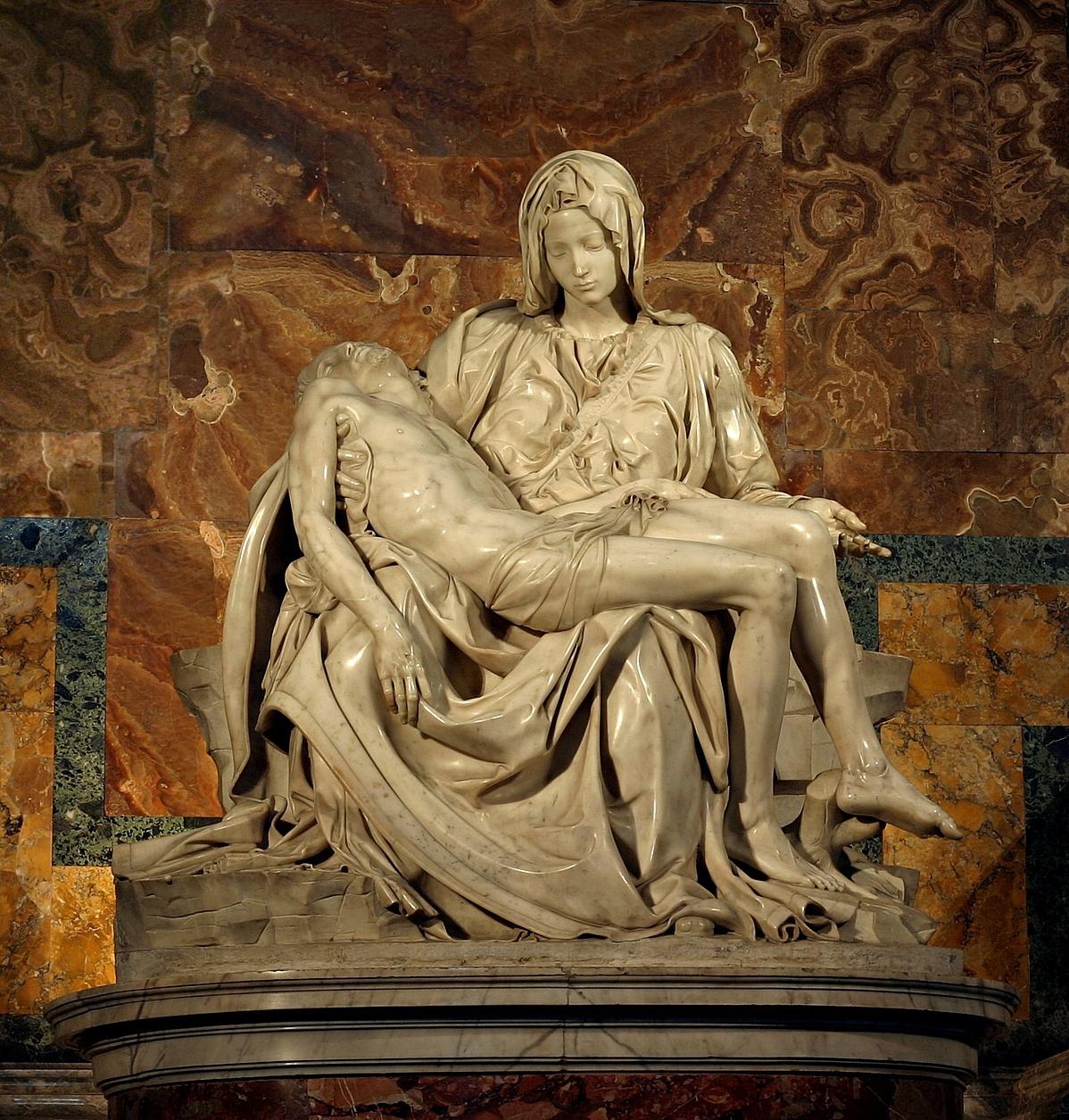 Michelangelo: Pietá (Krisztus siratása)