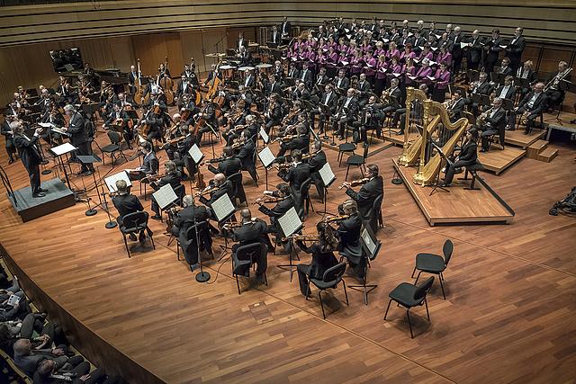 Eötvös Péter, A Magyar Rádió Énekkara és a Bécsi Filharmonikusok