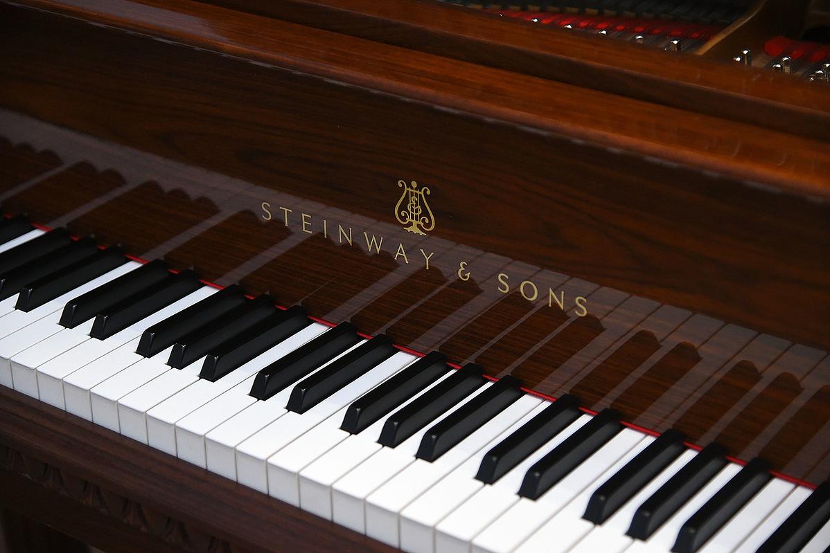 Steinway-zongora - Képünk illusztráció