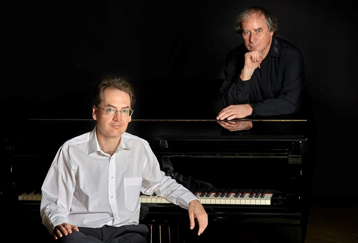 Várjon Dénes (balra) és Keller András (jobbra)