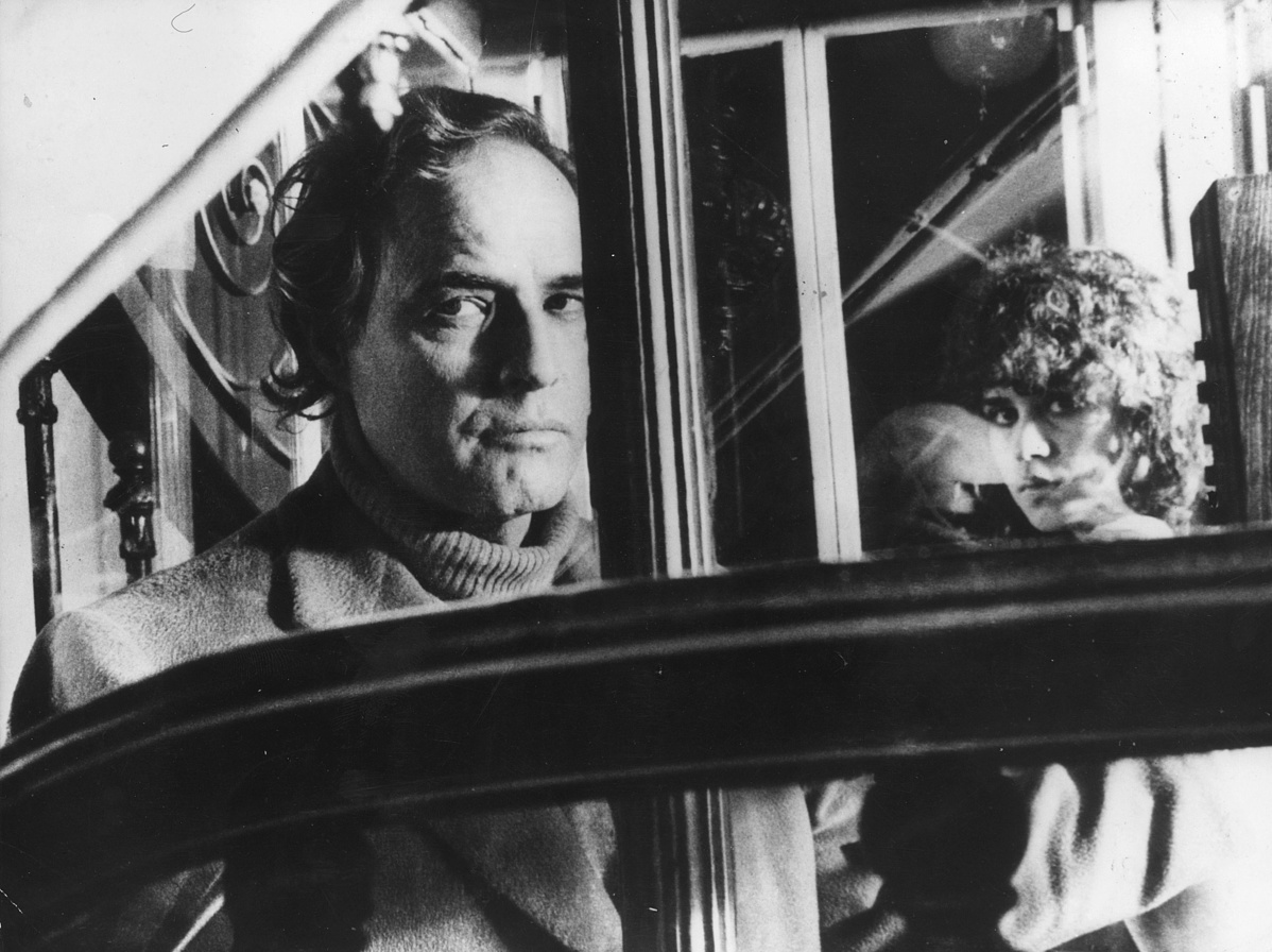 Marlon Brando és Maria Schneider az Utolsó tangó Párizsban című filmben