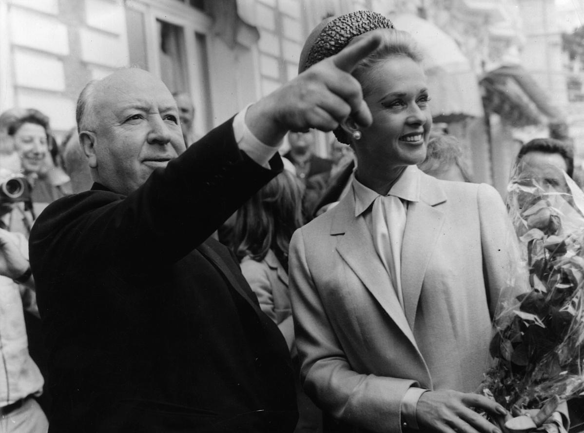 Alfred Hitchcock és Tippi Hedren