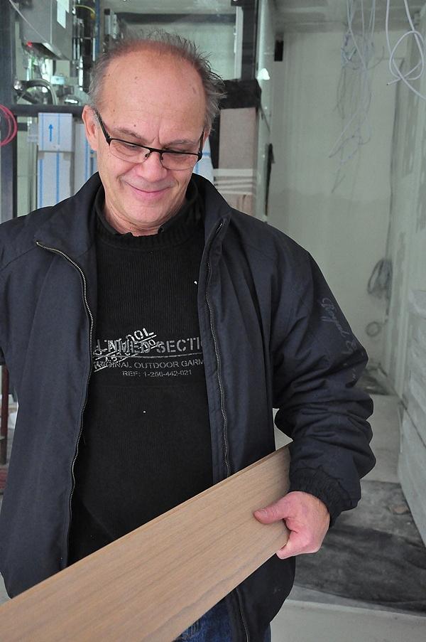 Gőz László elégedett - Bejárás a Budapest Music Center épületében 2013. január 13-án